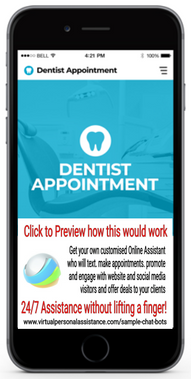 Dentist-Appointment Chatbot Sample