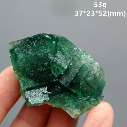 100% Natural Green Fluorite Mineral  Cluster Mineral Crystal