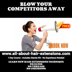 Learn new hair extensions technique in o