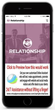 Relationship-chatbot-sample