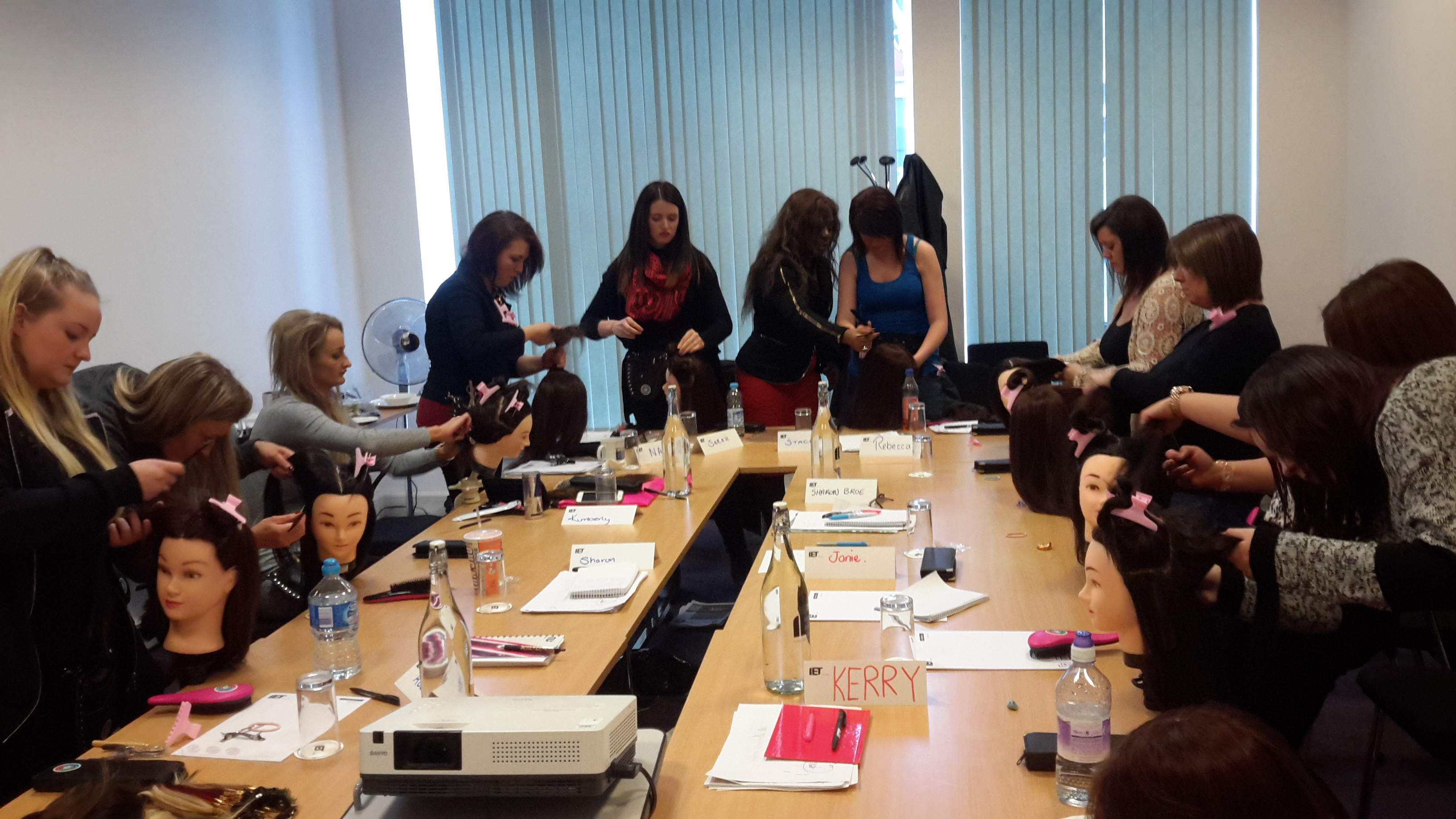 Hair Extension Training Academy