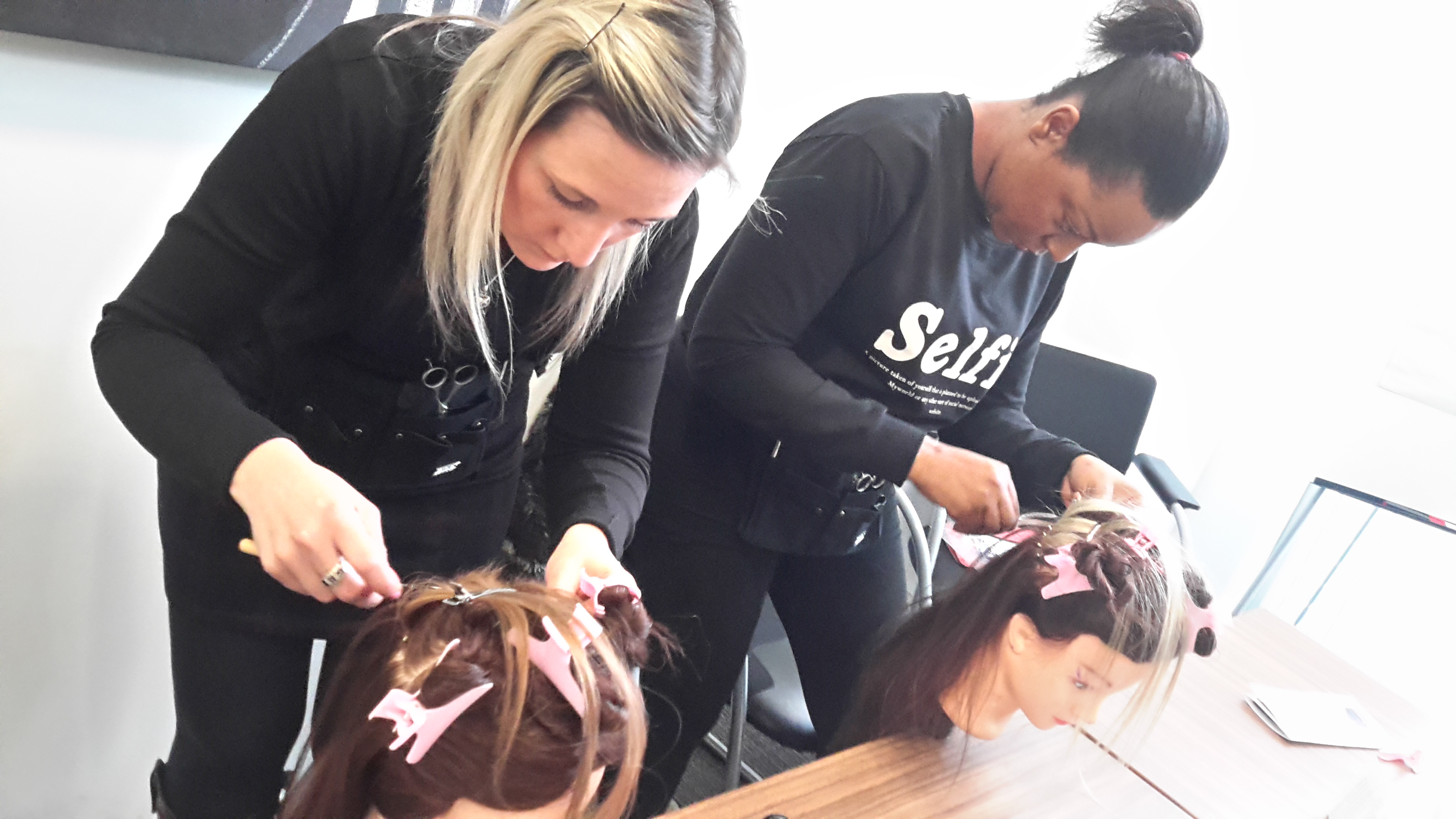 Hair Extension courses by Diane shawe