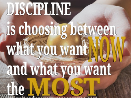 Which is more Productive – Discipline or Motivation?