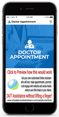Doctor-Appointment Chatbot Sample