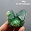 Thumbnail: 100% Natural Green Fluorite Mineral  Cluster Mineral Crystal