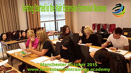 Hair extensions training courses