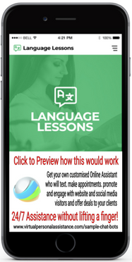 Languange-Lessons-chatbot-sample