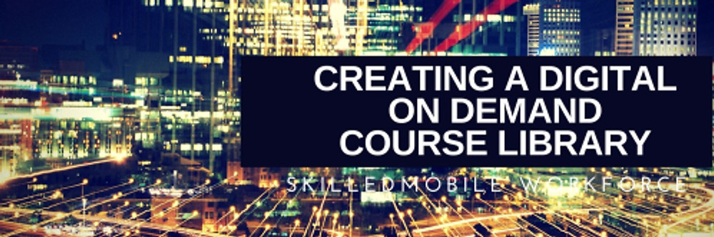 How to create a digital on demand course library
