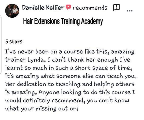 Hair Extensions Training Academy review