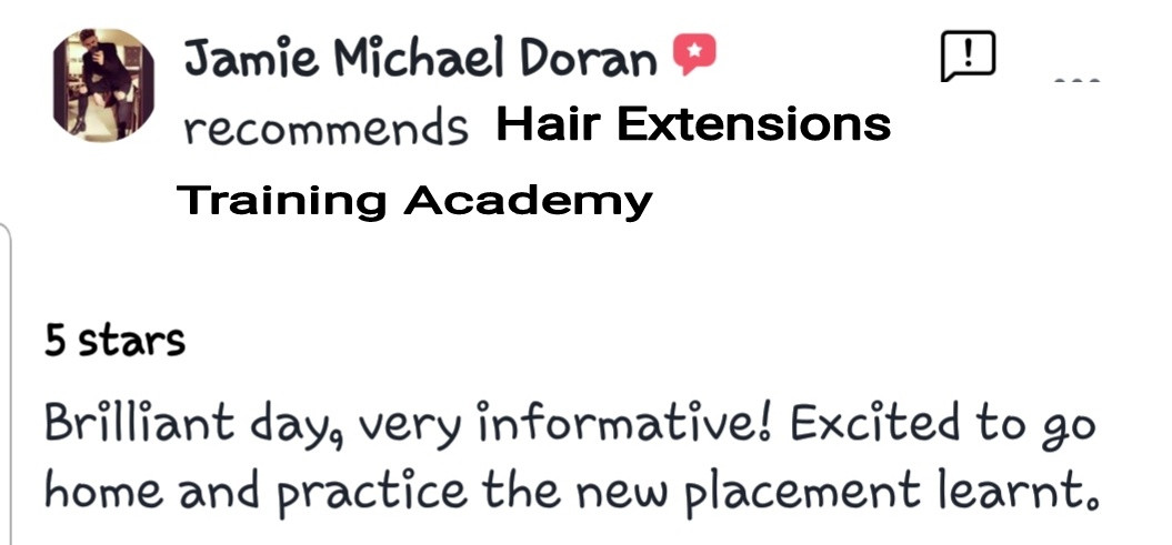 Hair Extensions Training Academy Testimonial 13