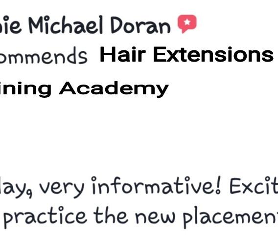 Hair Extensions Training Academy Testimonial 13