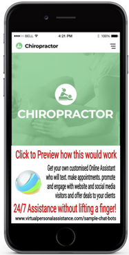 Chiropractor Chatbots Sample