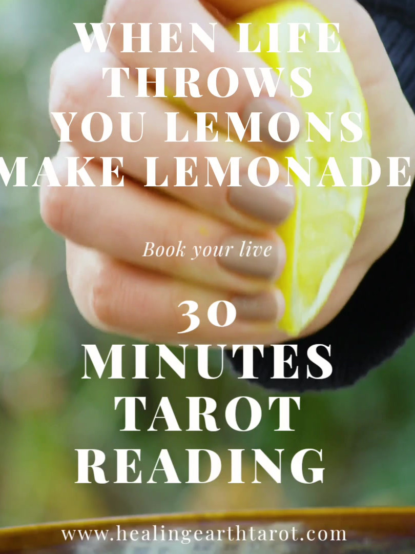when life throws you lemon make lemonade