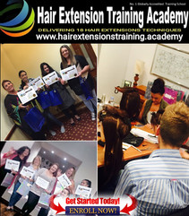 Students Graduation Hair Extensions Academy
