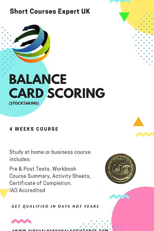 Balance Scorecard (Basic)