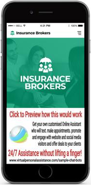 Insurance-Brokers-chatbot-sample