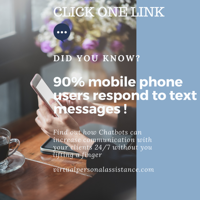 click one link to more customers chatbot
