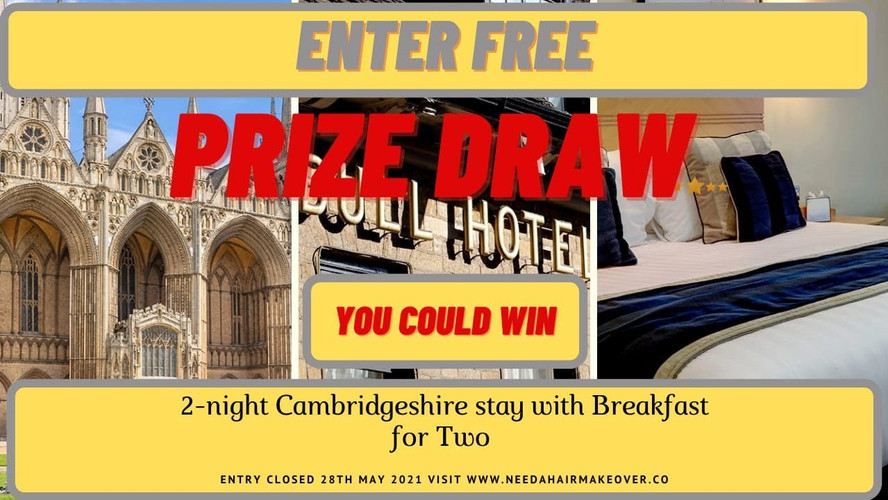 Free Prize Draw 5 Star Weekend break for two
