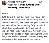 Review Hair Extensions Training Academy