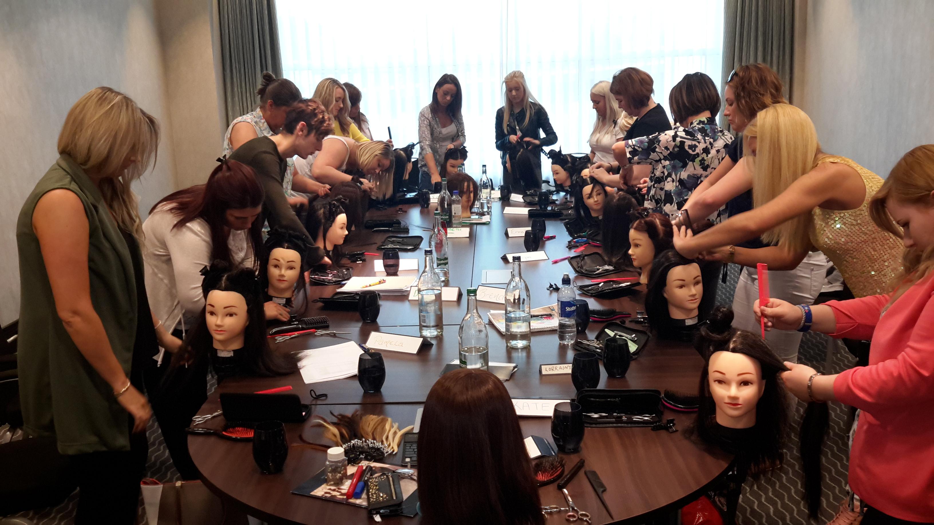 Glasgow Hair Extension training academy diane shawe 2015-09-07 17.51 (28)