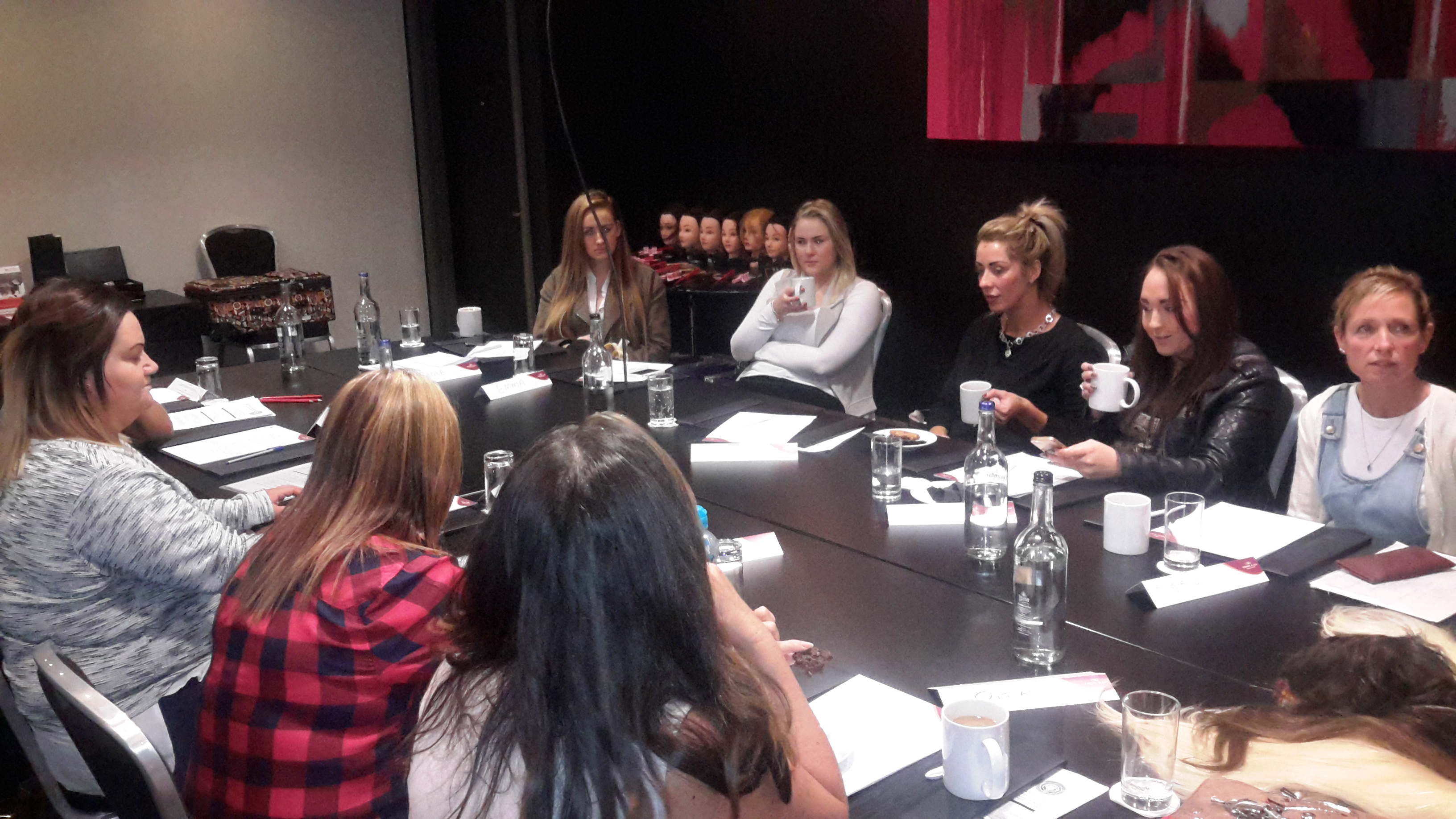 Hair Extension training course by diane shawe. 2015-11-02 11.20.38