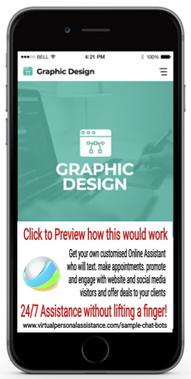 Graphic-Design-chatbot-sample