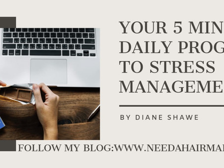 Your 5 Minutes Daily Program to Stress Management by Diane Shawe