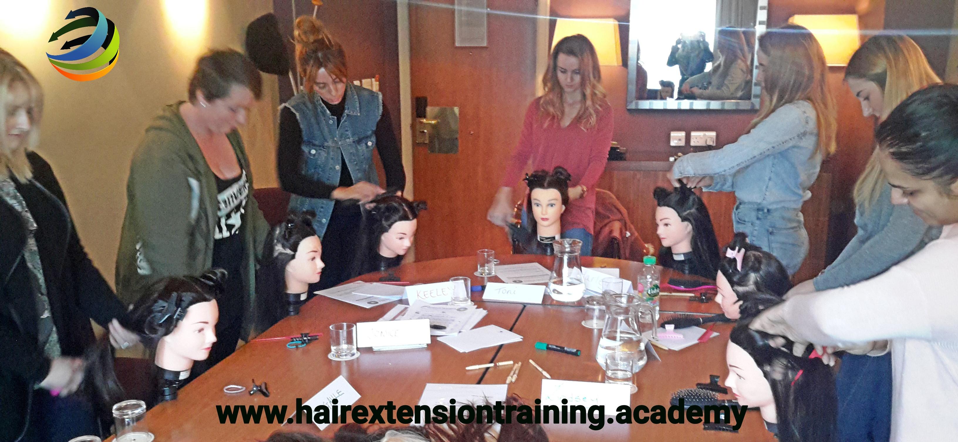 9  hair extension training academy diane shawe