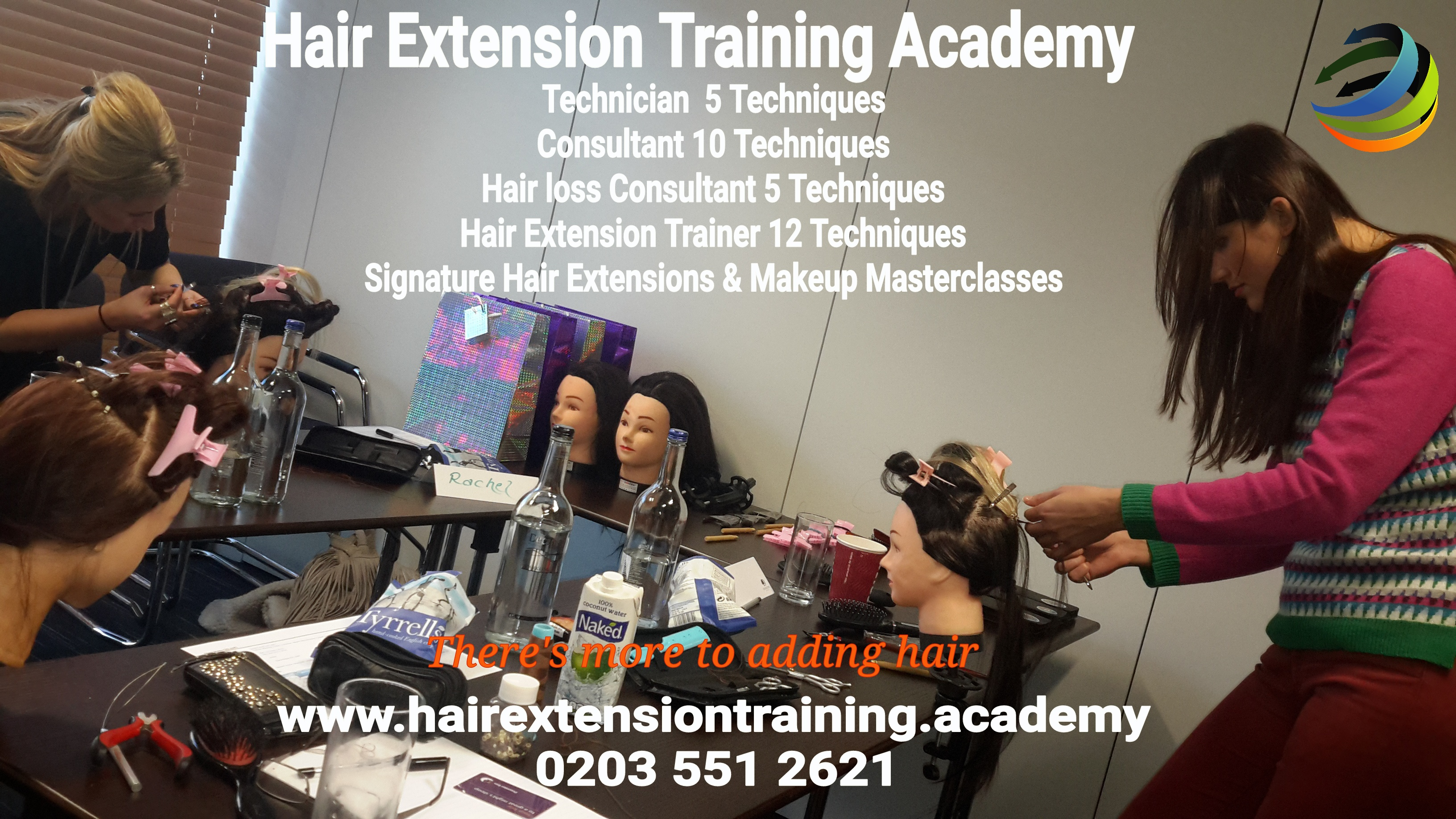 Hair extension training 16 techniques diane shawe