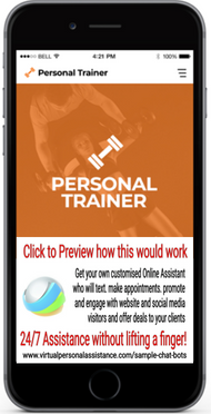 Personal-Trainer-chatbot-sample