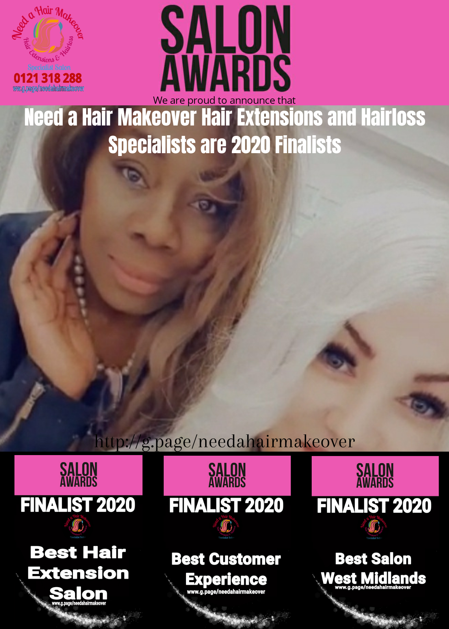 salon awards need a hair makeover 2021