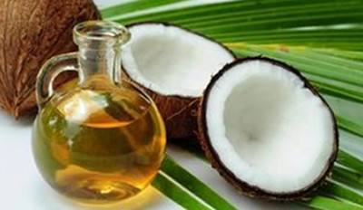 Use Coconut Oil to pre-condition hair before washing