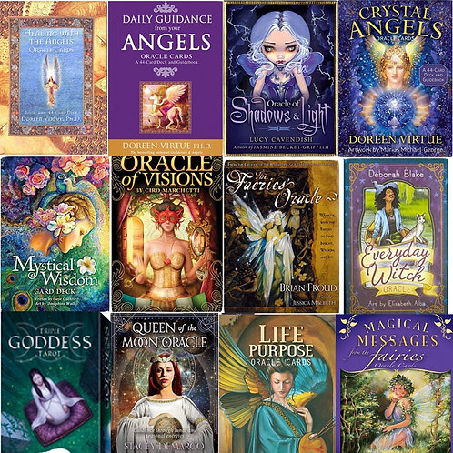 Tarot Oracle Cards for Guidance, Divination, Fate, in English , Entertainment