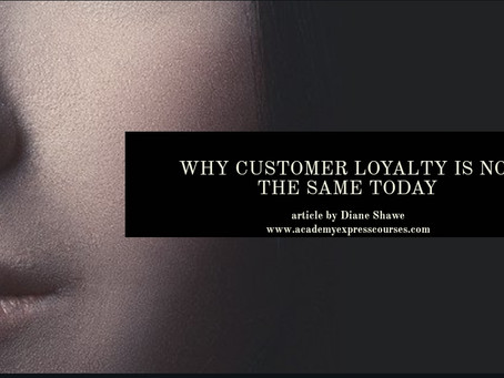 Client loyalty is not the same as it use to be and here's why