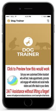 Dog-Trainer Chatbot Sample