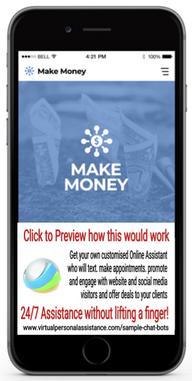 Make-Money-chatbot-sample
