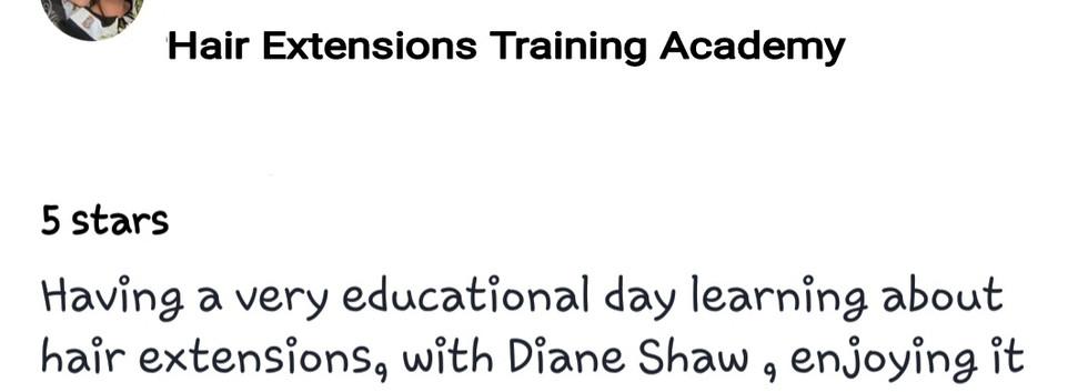 Hair Extensions Training Academy Testimonial 11