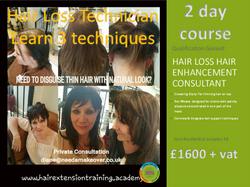 12 Hair Extension Prospectus Cover Diane Shawe learn 3 hair loss techniques