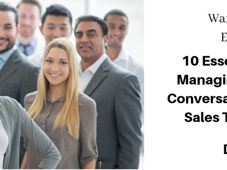 10 Essential Questions For Managing & Controling The Conversation  And Advancing The Sale  Towar