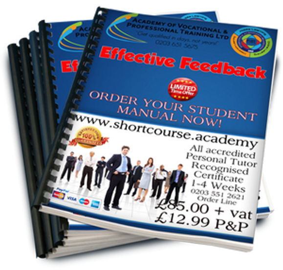 effective feedback home study course