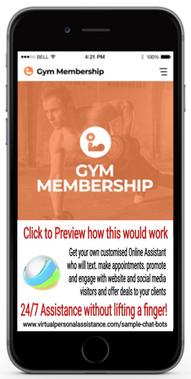 Gym-Membership-chatbot-sample