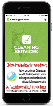 Cleaning-Services Chatbots Samples
