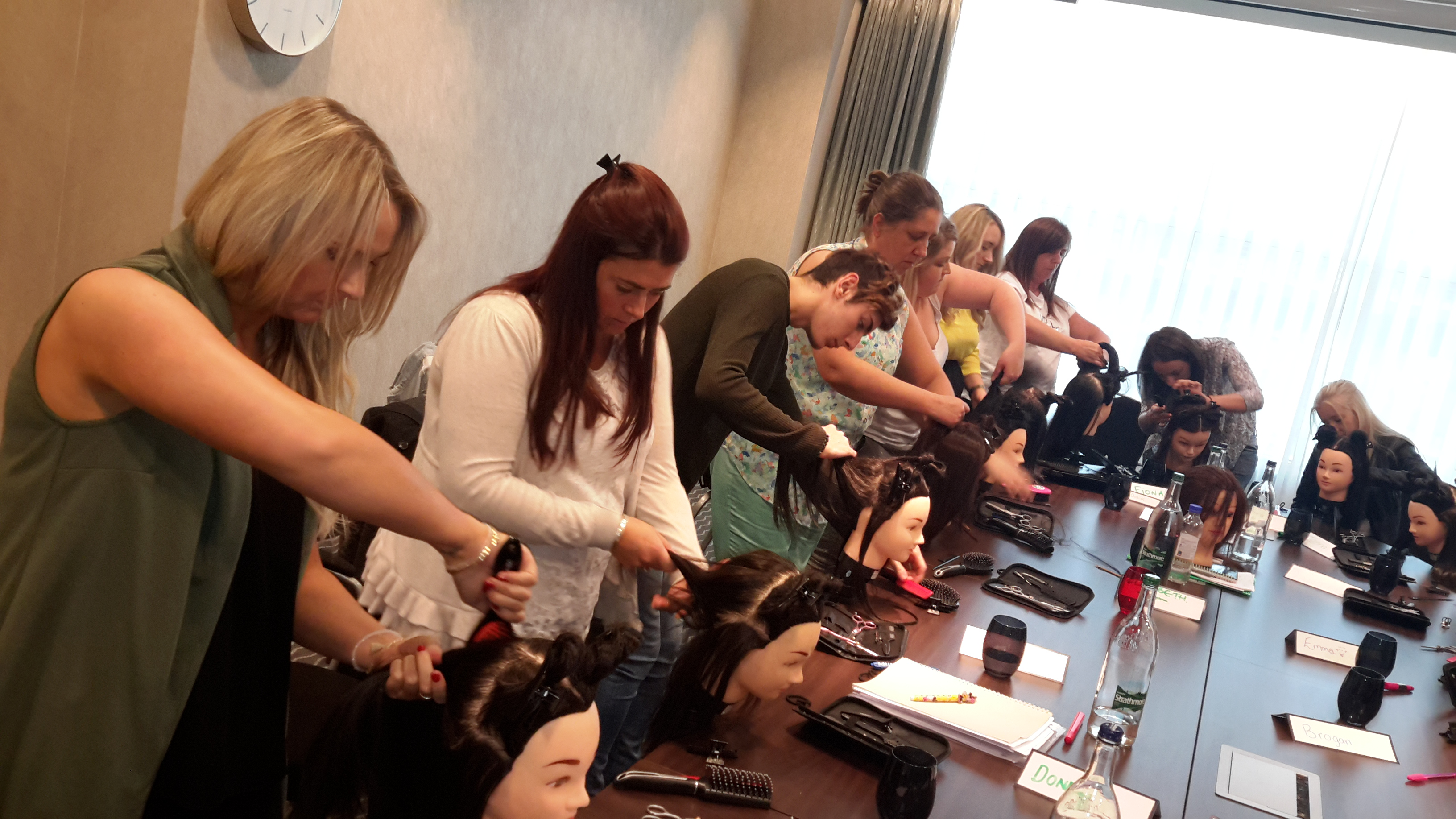 Glasgow Hair Extension training academy diane shawe 2015-09-07 17.51 (30)