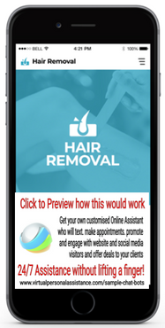 Hair-Removal-chatbot-sample