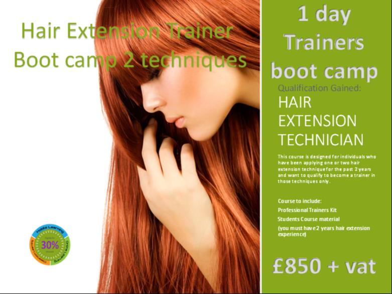 Hair Extensions Training Courses Prospectus