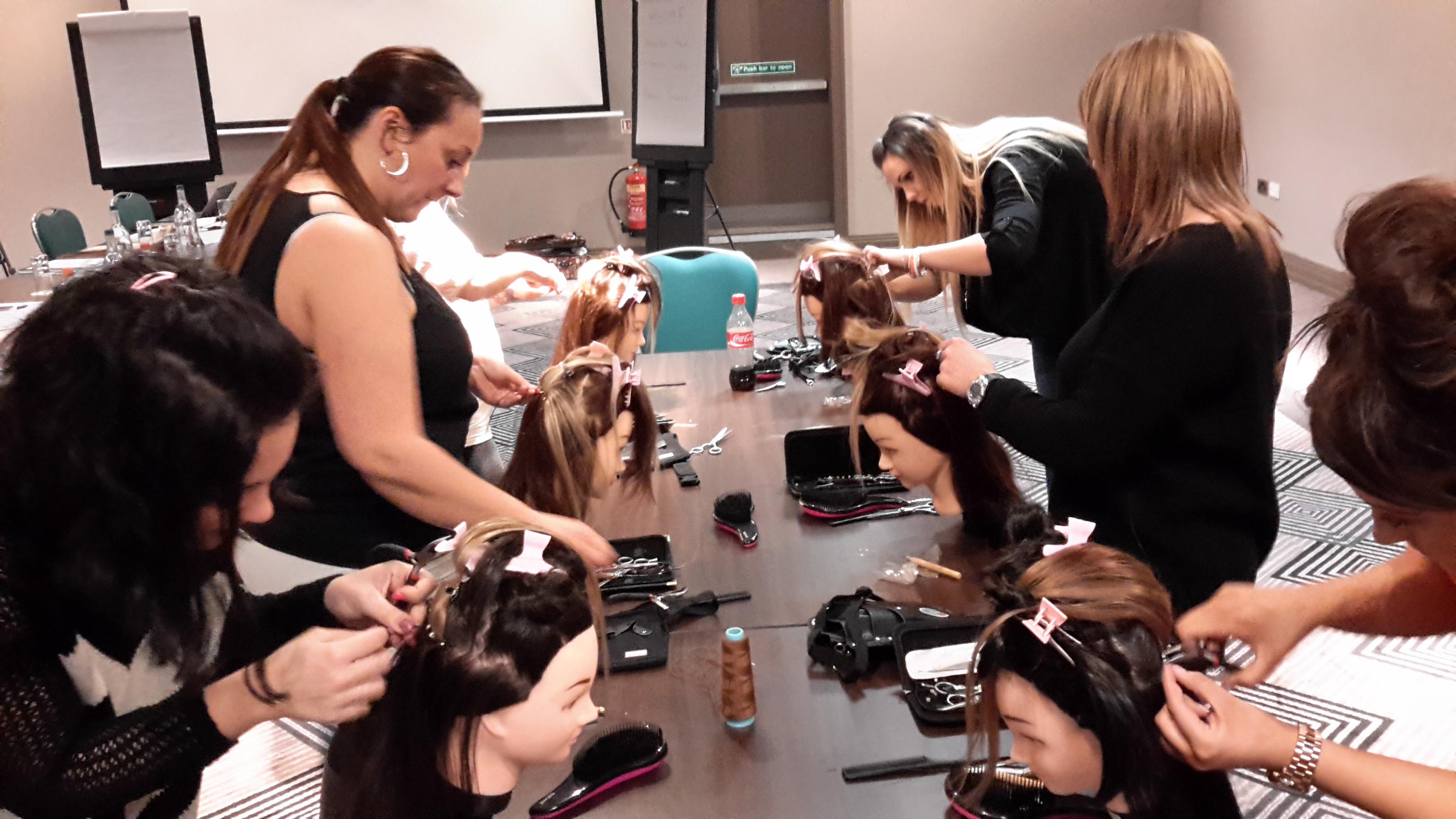 Hair Extension Training Class