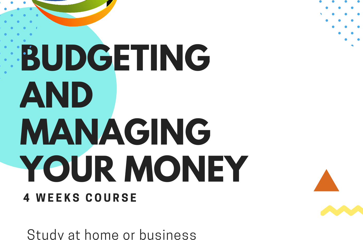 budgeting and managing finance