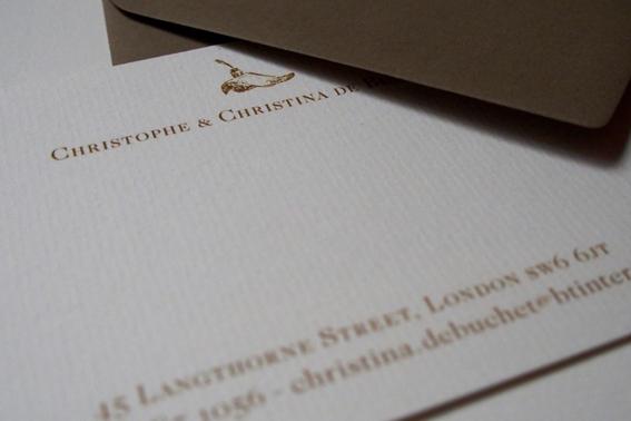 carte de visite Londres 2