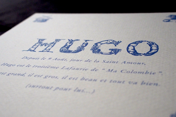 fairepart-Hugo