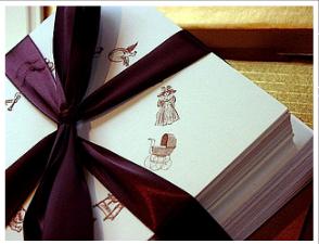 card ruban